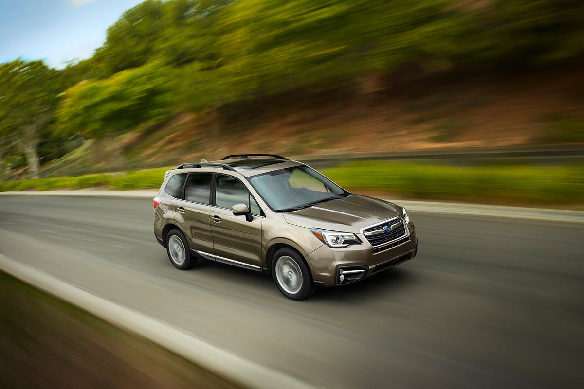 subaru forester news specs pictures