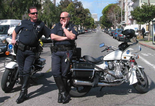 SFPD Motorcycle