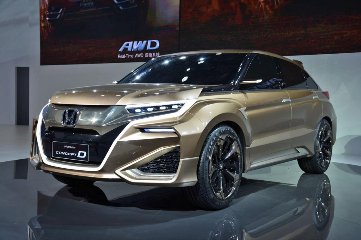 honda acura to show crossovers in beijing shanghai concept d