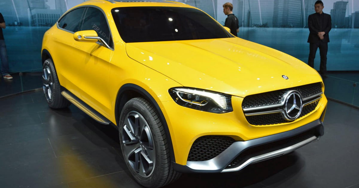mercedes benz concept glc coupe pictures specs news digital trends. Black Bedroom Furniture Sets. Home Design Ideas