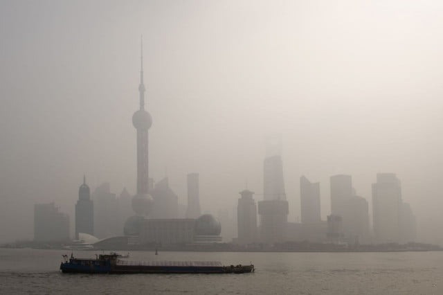 ibm microsoft start air quality forecasting shanghai pollution