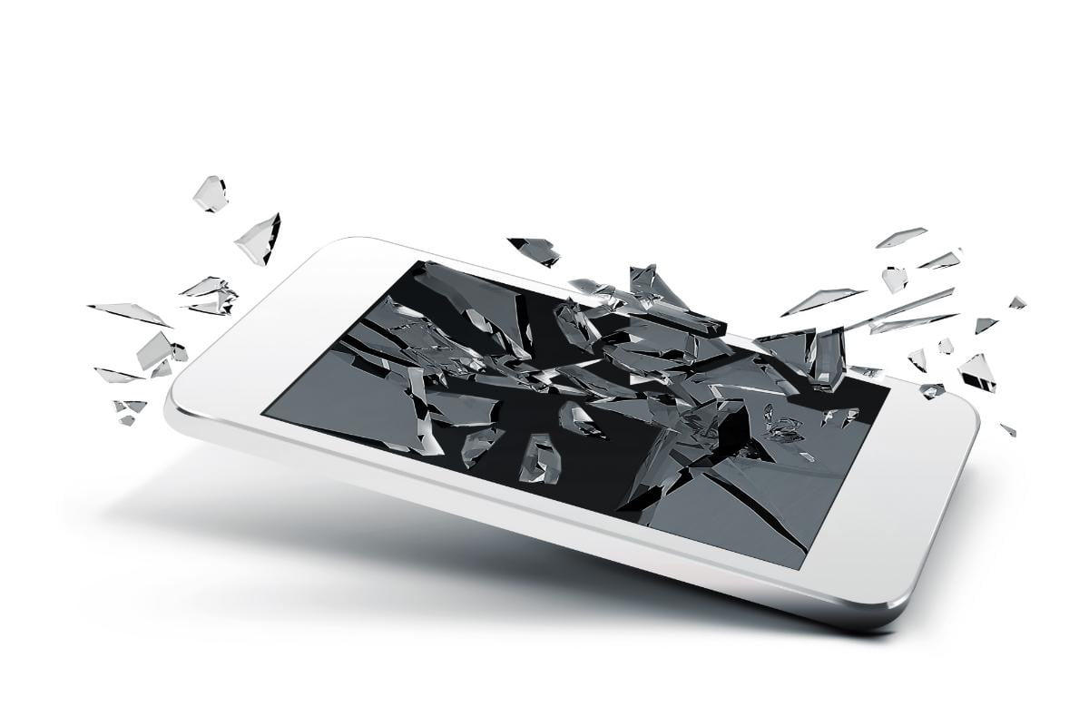 say goodbye shattered smartphone screens thanks flexible shatterproof film phone screen