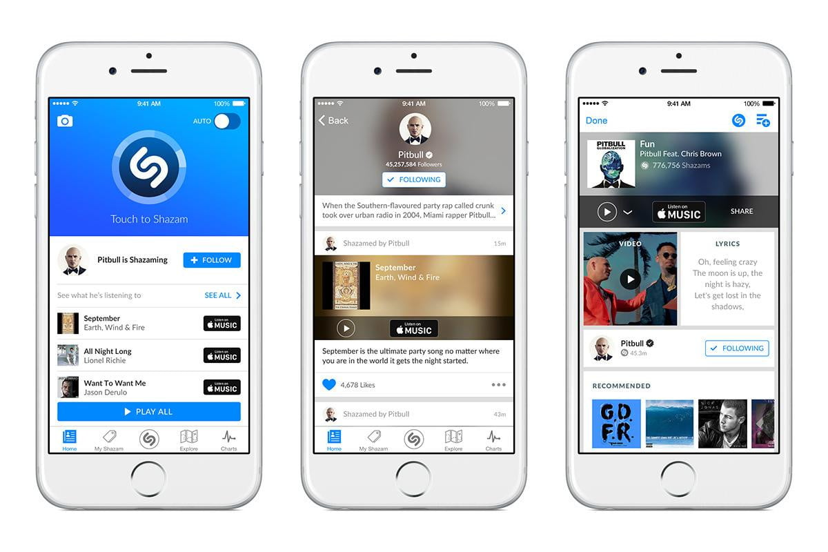 new shazam feature lets you see what tracks big name artists are tagging follow
