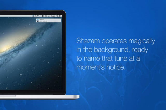 shazam for mac os x hands on apple app store free