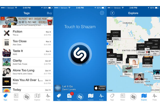 shazam does deal with rdio to bring full songs its id app iphone