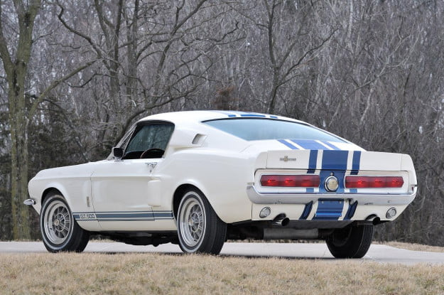 Shelby 1967 GT500 Super Snake backend
