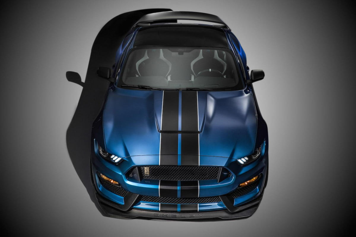 ford shelby gt  r order form leaked online mustang