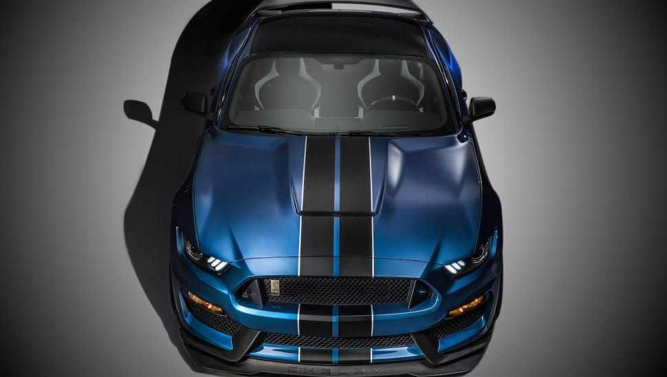 did the  shelby gt r lap nurburgring in mustang