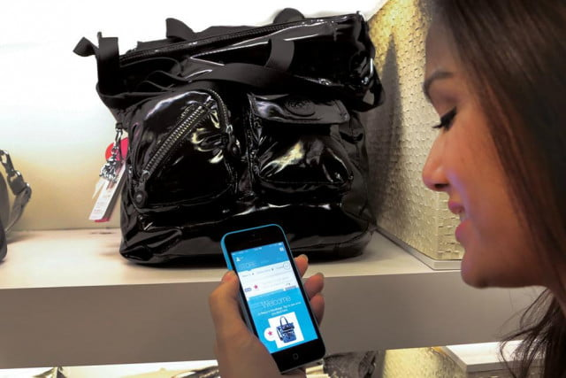 macys becomes first trial ios  s ibeacon serving promos iphone shopkick