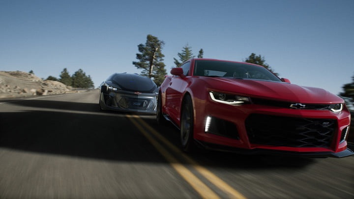 epic games unreal engine  powers new chevrolet car customizer shot final exterior in