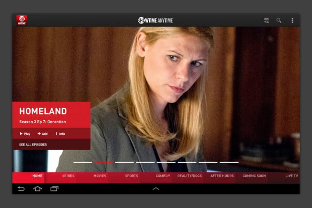 showtime standalone streaming service anywhere app screen