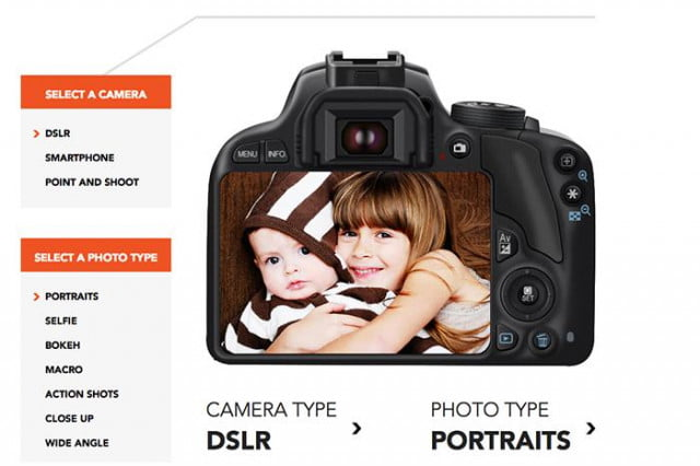 "Shutterfly's ""Perfect Photo"" Guide gives you detailed instructions on obtaining better images."