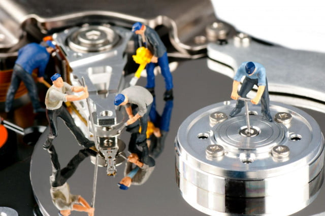 how to partition a hard drive in windows  shutterstock