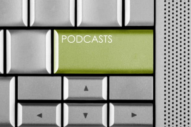 how to make a podcast shutterstock