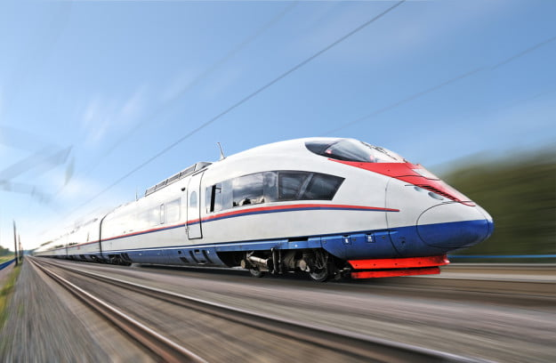 high-speed-train-shutterstock