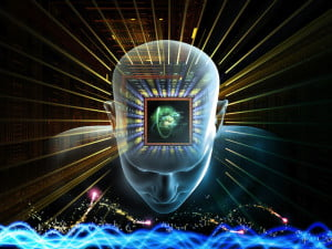 Singularity / Artificial Intelligence (Shutterstock / agsandrew)