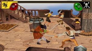 Sid Meiers Pirates PSP screenshot