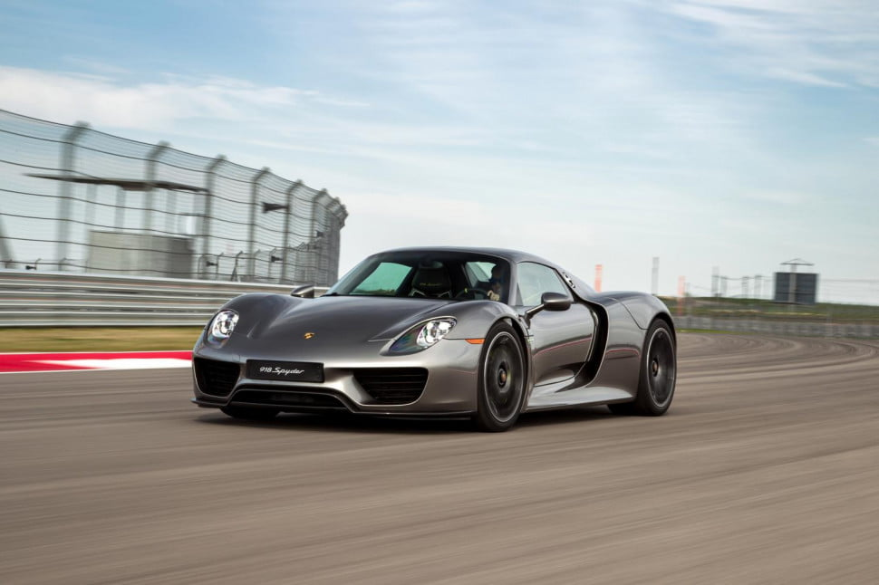 porsche may build battery electric hydrogen fuel cell vehicle  spyder