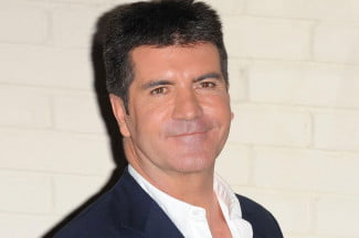 Simon Cowell head
