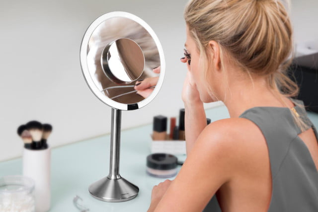 simplehuman sensor mirror pro smarthome simple human woman makeup  x