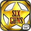 Six Guns logo android tablet