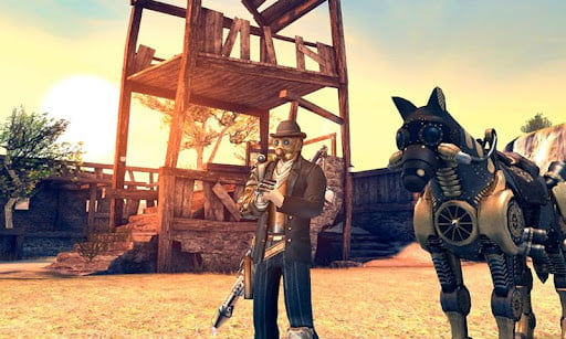 Six guns screenshot