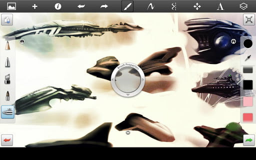 Sketchbook pro for android