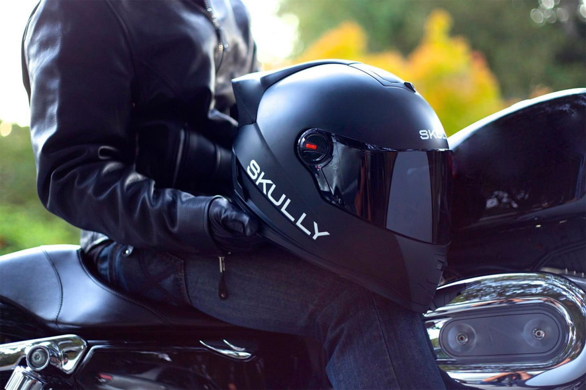 hud helmet ceo thinks data riders better safety distraction skully