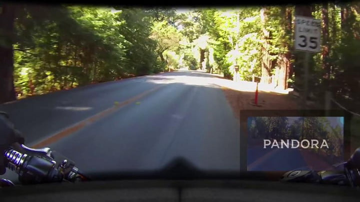 hud helmet ceo thinks data riders better safety distraction skully display  pandora