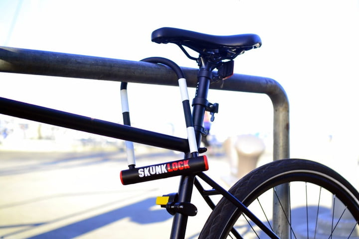 skunklock 720x720 SkunkLock is a lock that stinks when a thief tries to steal your bike