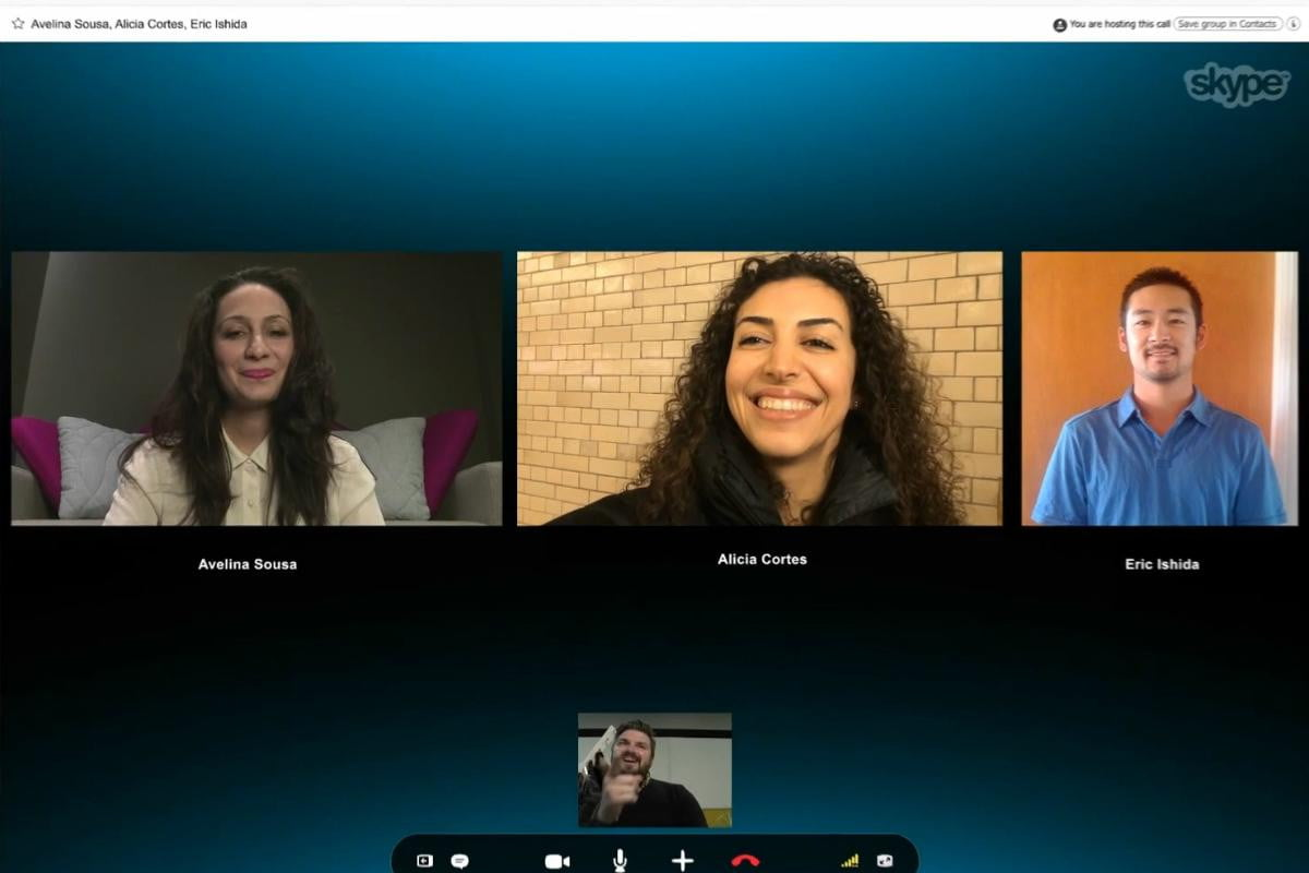 skype group video calls now free windows mac xbox one users call