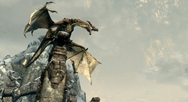 Skyrim dragon HD Texture Pack