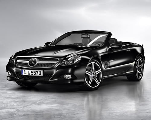 Mercedes Benz SL Night Edition