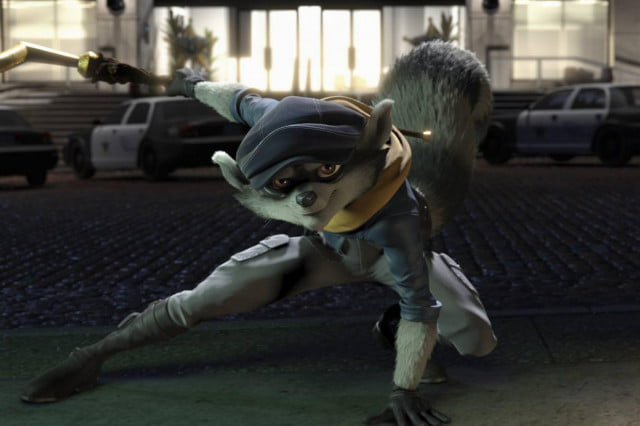 sly cooper movie stealing theater screens early