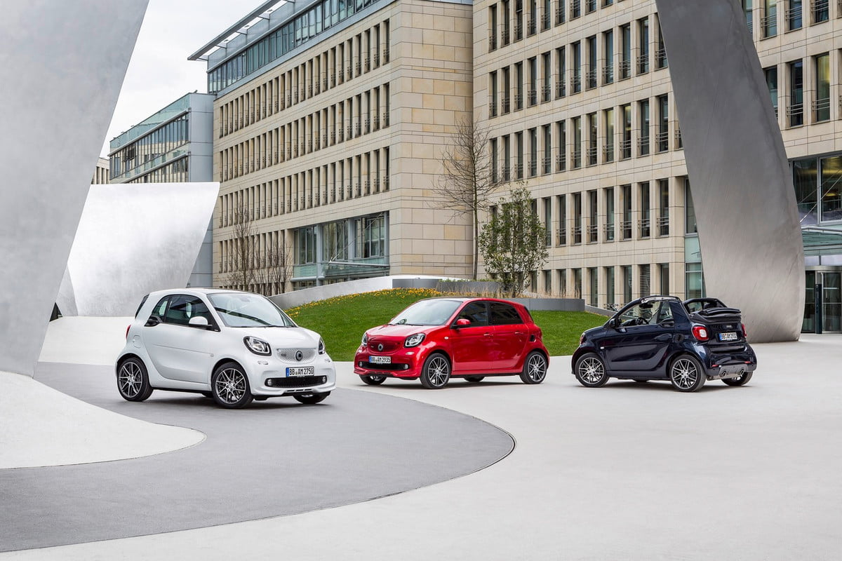 smart tries to boost its cars street cred with brabus tuning packages