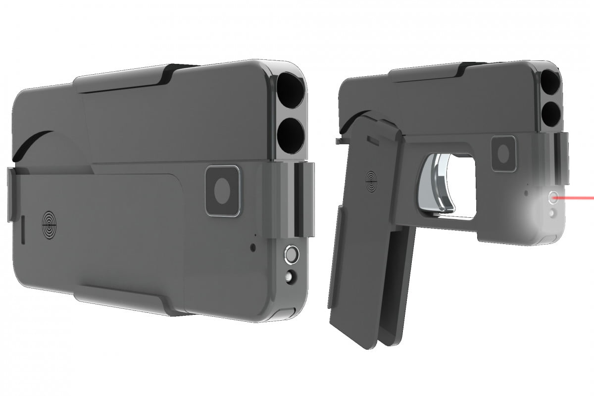 ideal conceal is a handgun that folds up to look like smartphone