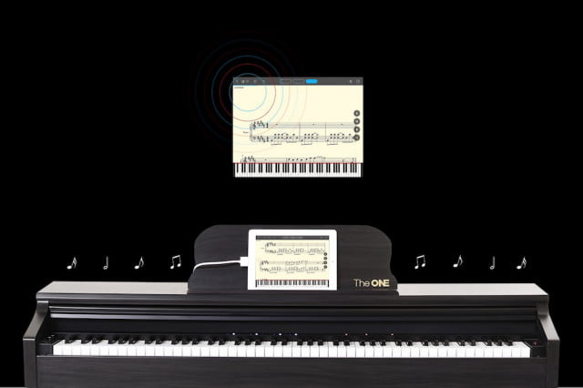 ONE Music Group Smart Piano