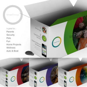 SmartThings packaging