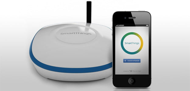 SmartThings sensor kickstarter crowdfunding project