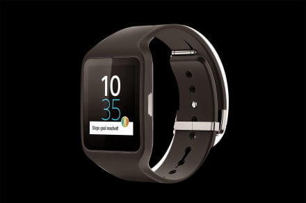 Sony Smartwatch 3 front angle