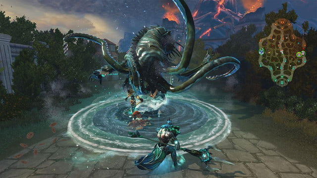 smite xbox one official launch screenshot