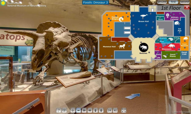 Love museums hate pants try these virtual museum tours for Virtual house walkthrough
