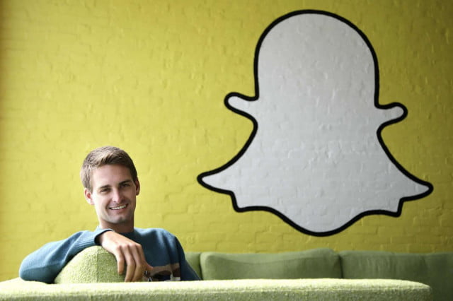 snapchat revenue prediction  ceo evan spiegel
