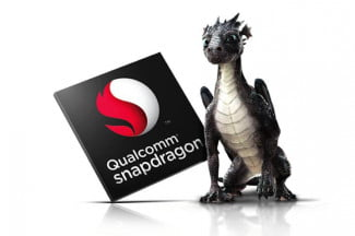 Snapdragon Chip with Dragon