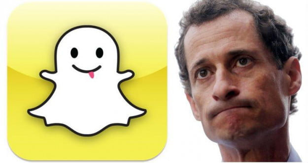 anthony weiner snapchat