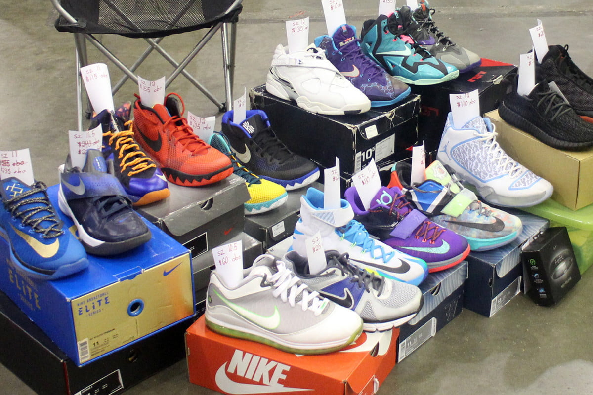 sneakercon sneaker culture matures parent looking after son s sneakers