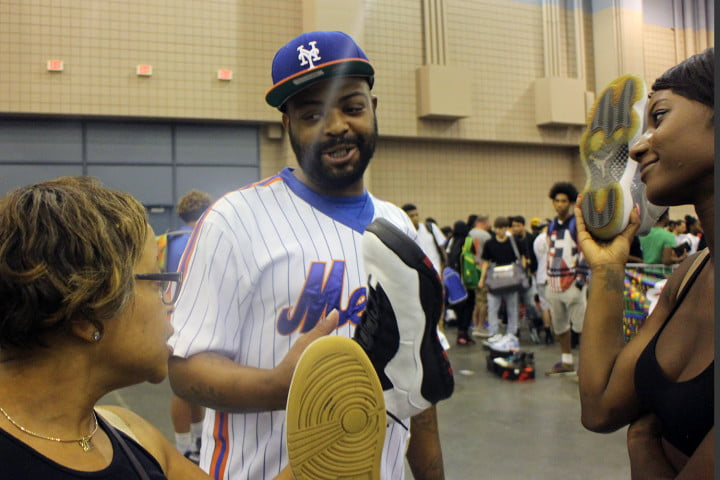 sneakercon sneaker culture matures tina selling sneakers