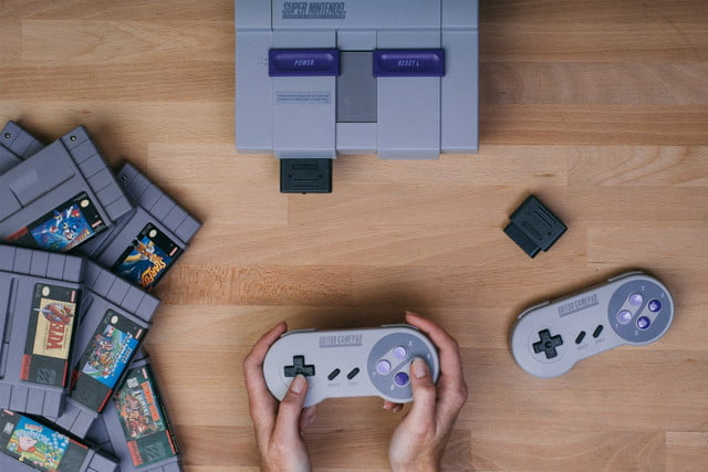 snes retro receiver enables wireless controller support sneswireless header