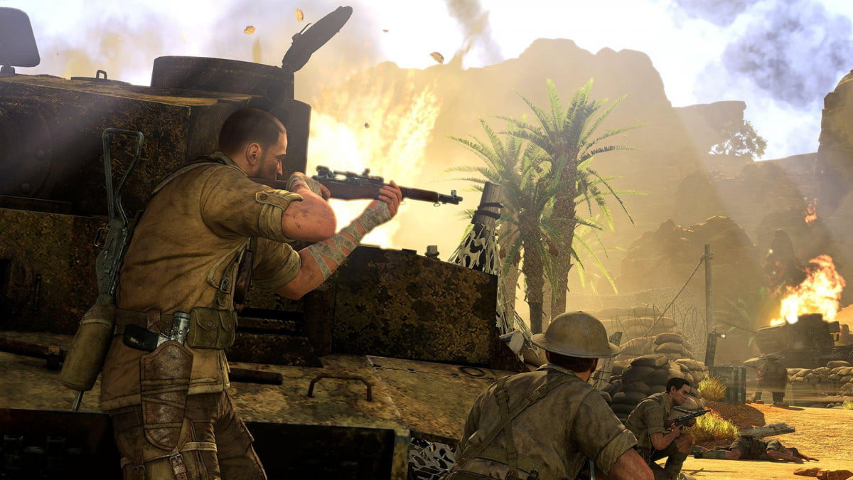 latest video game releases week ending july  sniper elite