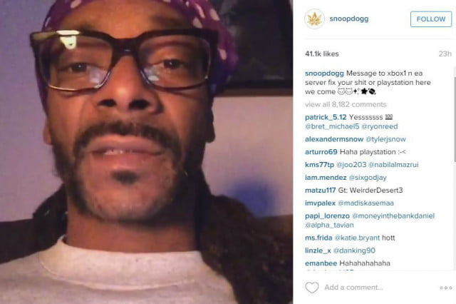 snoop dogg tells off xbox live rant